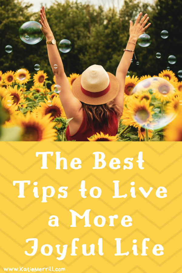 I love these simple and easy tips for living a joyful life. Plus who doesn't want to eat cake?
