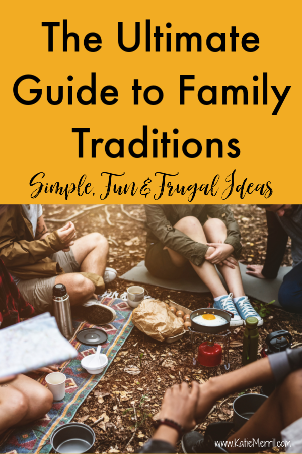 Family traditions were so important to my mom when I was growing up. I hope to start some new traditions with my kids to make those kinds of memories I have with my kids. My mom was awesome!