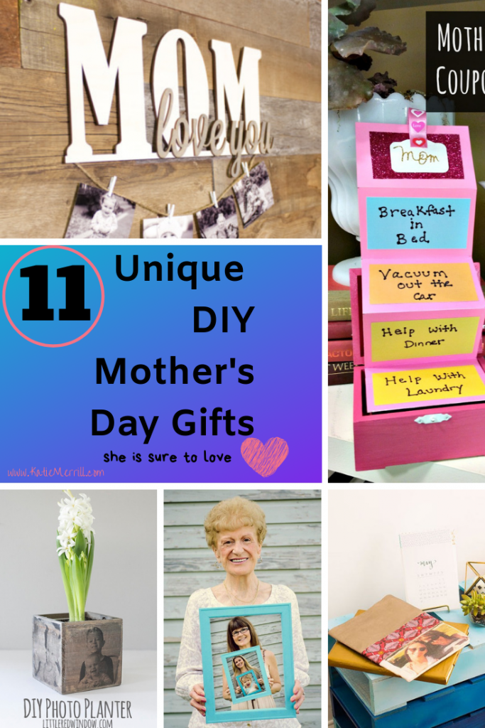 I love these fun, simple, thoughtful mother's day gift ideas. I am totally doing #10 this year for my mom!