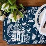 What a fun project to do with my mom this year! #amakersstudio #imperfectartisan #diyhomedecor #stencils #tablescape