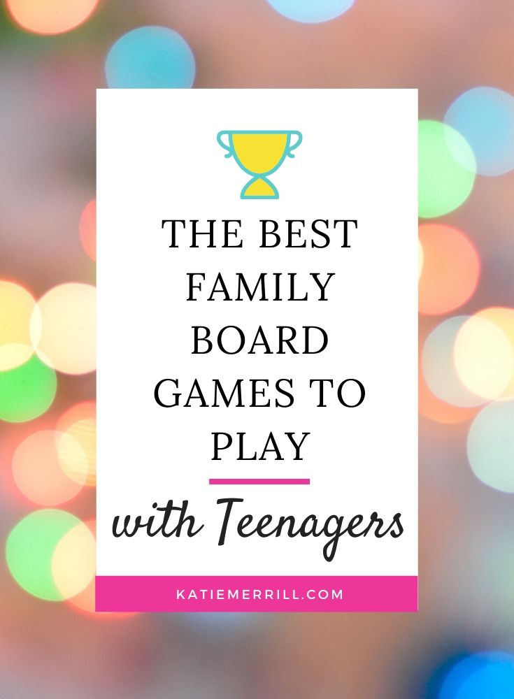 The Best Family Board Games to Play with Teenagers