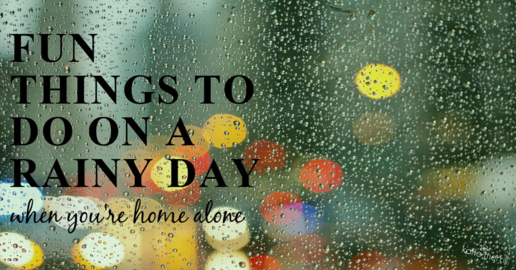 things to do in the rain