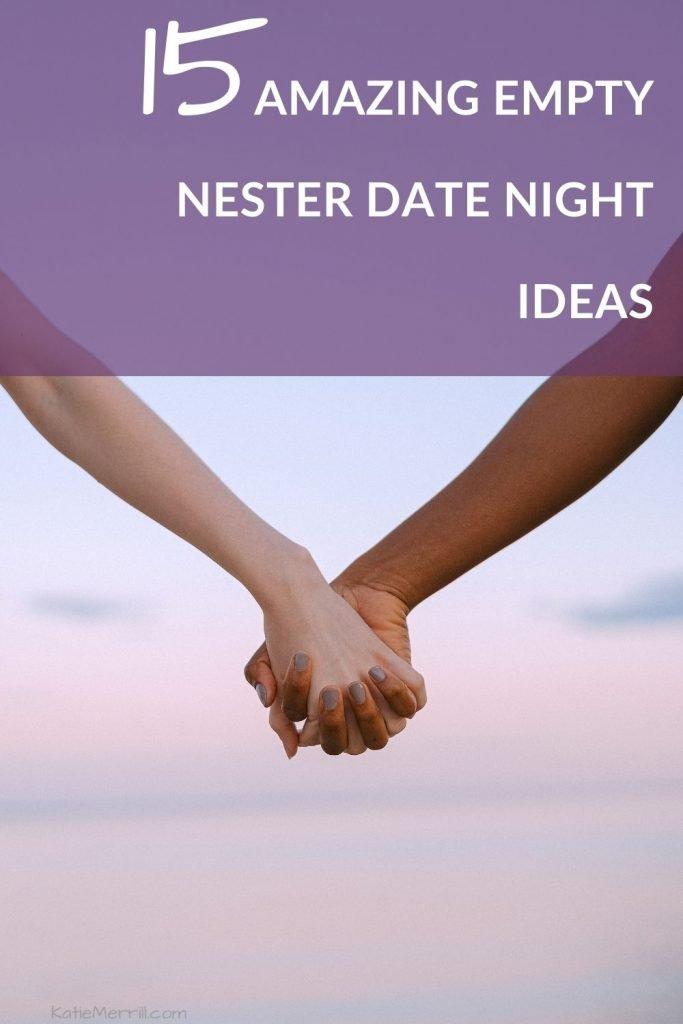 Amazing-Empty-Nester-Date-Night-Ideas | holding hands