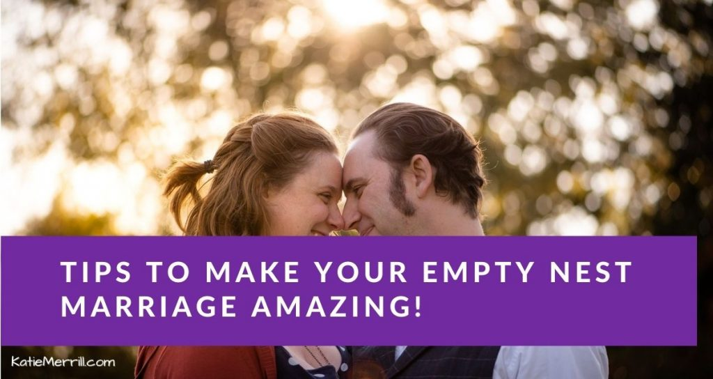 Tips to Make Your Empty Nest Marriage Amazing | Couple gazing into each other's eyes